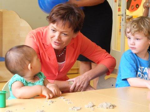 Gesprächsreihe Begegnungen: Hessische Ministerin für Bundes- und Europaangelegenheiten bei Le Jardin