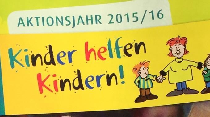 Kinder helfen Kindern!