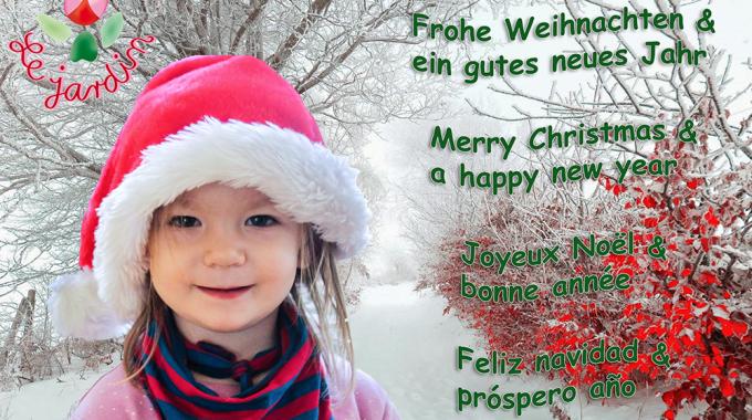 Le Jardin Wünsche zum Jahresende!