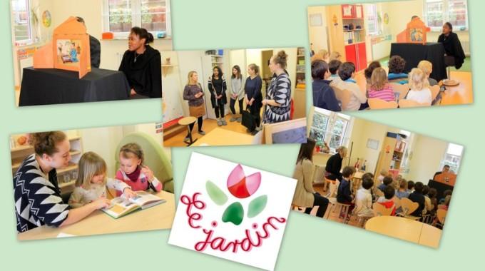 Besuch von Auszubildenden der Beruflichen Schulen Berta Jourdan!