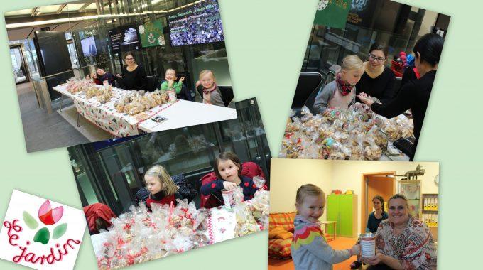 """Weihnachts-Charity Aktion des """"DWS Kindergarten Jardin Westend"""""""