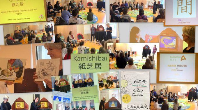 Kleiner Einblick in unsere Kamishibai Fortbildungen!