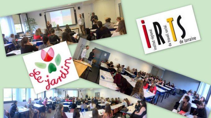 Erfolgreiche Partnerschaft mit der Sozialen Fachhochschule I.R.T.S mit ihren Standorten in Metz und Nancy.