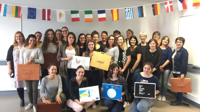 Erasmus-Days an der Pädagogischen Fachhochschule in Tours (Frankreich).